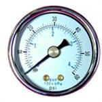 Dry Back Mount Pressure/Vacuum Gauges