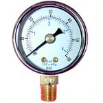 Dry Lower Mount Pressure/Vacuum Gauges