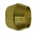 Brass Compression Sleeves (OD Tube)