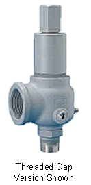 Kunkle High Pressure ASME Safety Valves, Steel and Stainless Models 910, 911, 916 & 917