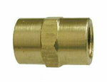 Coupler (NPT), Brass Pipe Fitting