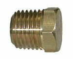 Hex Head Plug (NPT), Brass Pipe Fitting