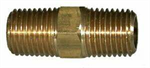 Hex Nipple (NPT), Brass Pipe Fittings