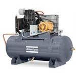 LS ELA, Splash Lubricated Piston Compressors with Electronic Drain, Low Oil Switch and Aftercooler