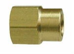 Reducing Coupler (NPT), Brass Pipe Fitting