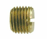 Slotted - Head Plug (NPT), Brass Pipe Fitting