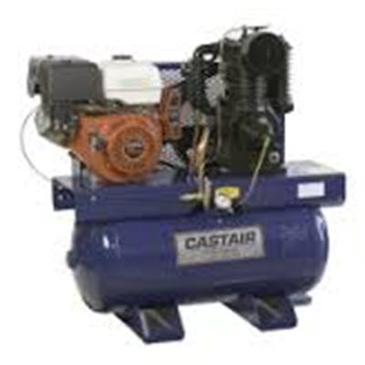 Castair 13HP GX390 Honda Engine Gas Driven Air Compressor Rope
