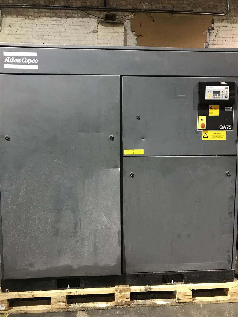 Rebuild GA75 100Hp Atlas Copco Rotary Screw Compressor
