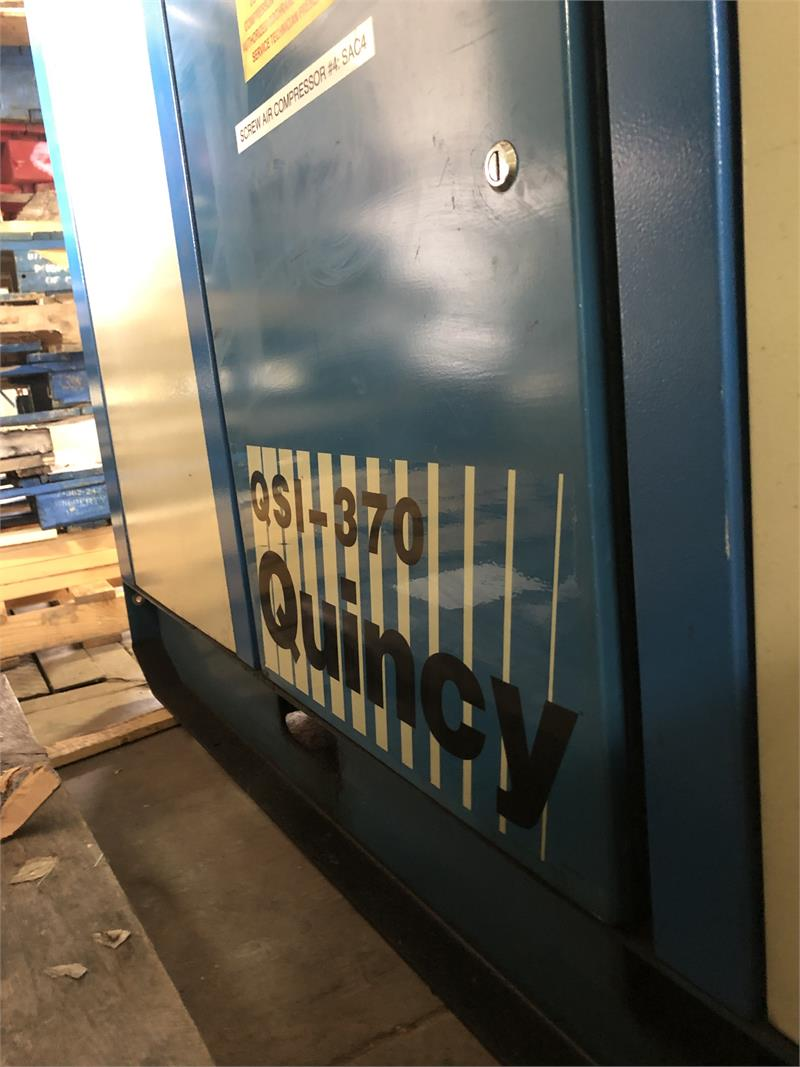 Rebuilt QSI Quincy 75Hp Rotary Screw Compressor (Subject