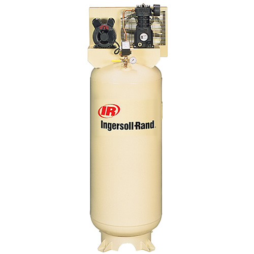 Ingersoll Rand Single Stage, 3HP 230V, 11.3 acfm 90psi, 60 Gal Vert