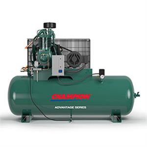 25HP HRA25-12 Advantage Air Compressor 120Gal Horiz 230V