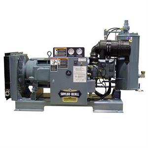 Saylor-Beall 30HP Base Mnt Rotary Screw Air Compressor