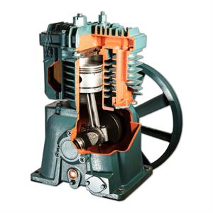 Replacement Air Compressor Pump >> Fs Curtis Cts Series 3 Hp Single Stage Fc47 Replacement Air