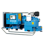 Boge CL Series, 10HP, 37CFM@125psi, 208-230/460/3/60V, Quiet Rotary Screw Air Compressor