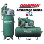 Champion Advantage Series Air Compressors 3 Phase 5-25HP