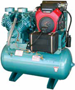 OEM Gasoline/Diesel & Electric Garage Compressors & Portable Small Construction Compressors