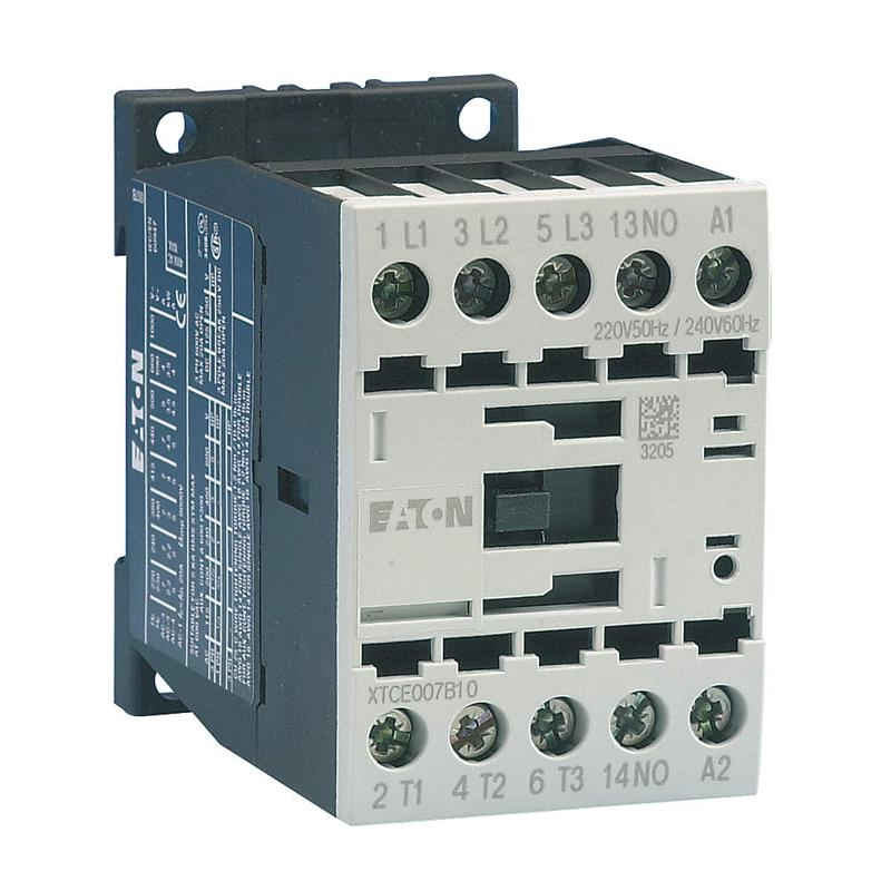 Eaton Contactor with Coil for IEC Starter, ECX09L, 208V ...