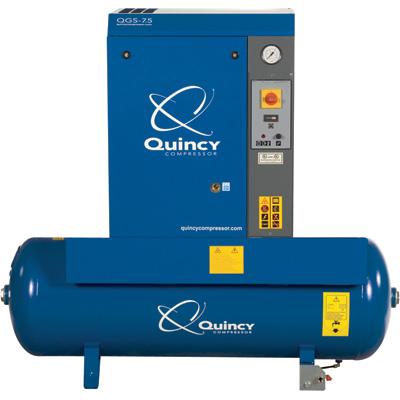 Quincy 5 Hp Qgs 16 6 Cfm Rotary Air Compressor